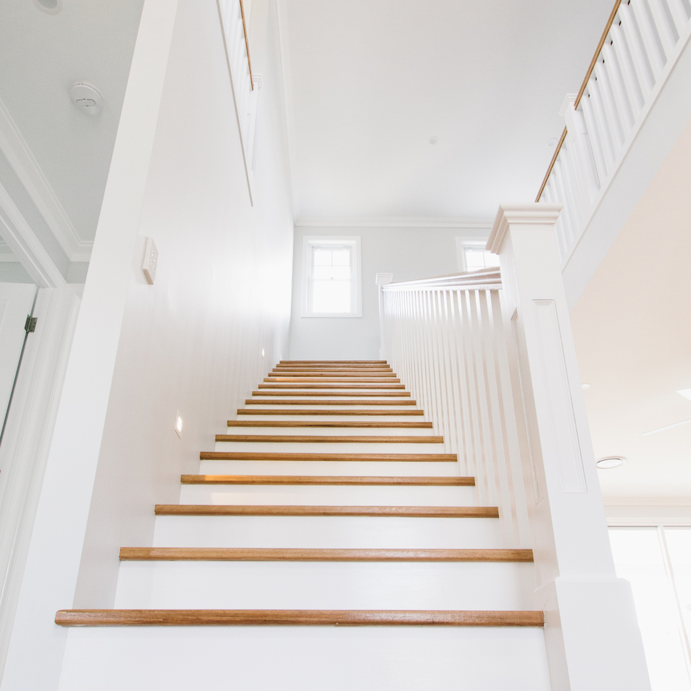 DianeStreet stairs and hall painted