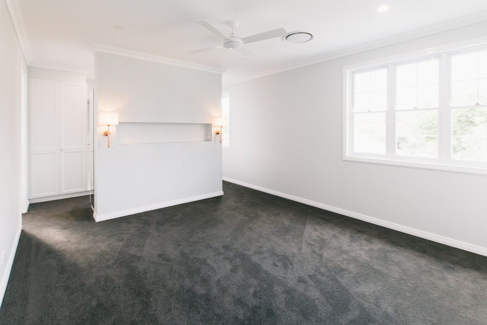DianeStreet bedroom interior painted