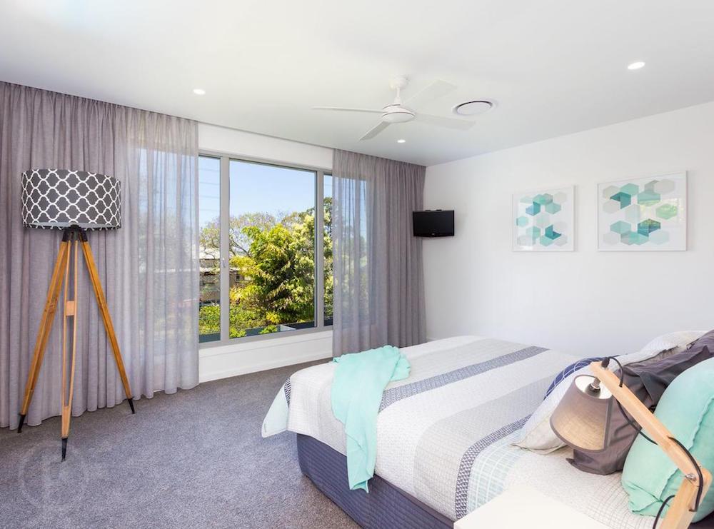 Keble - Main Bedroom interior painting finish